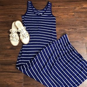 Dresses & Skirts - Striped maxi dress